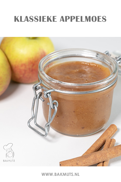 Klassieke appelmoes recept van Bakmuts