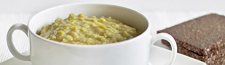 Vegetarische erwtensoep recept bakmuts