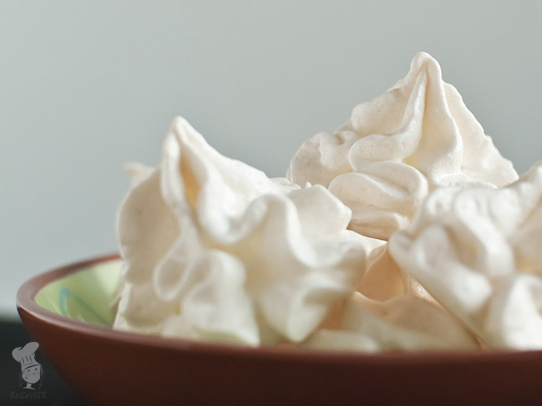 Schuimpjes meringues recept basis bakmuts