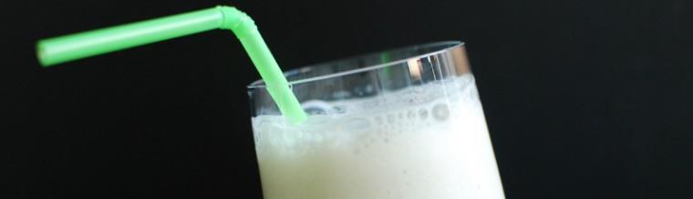 Bananenmilkshake recept bakmuts