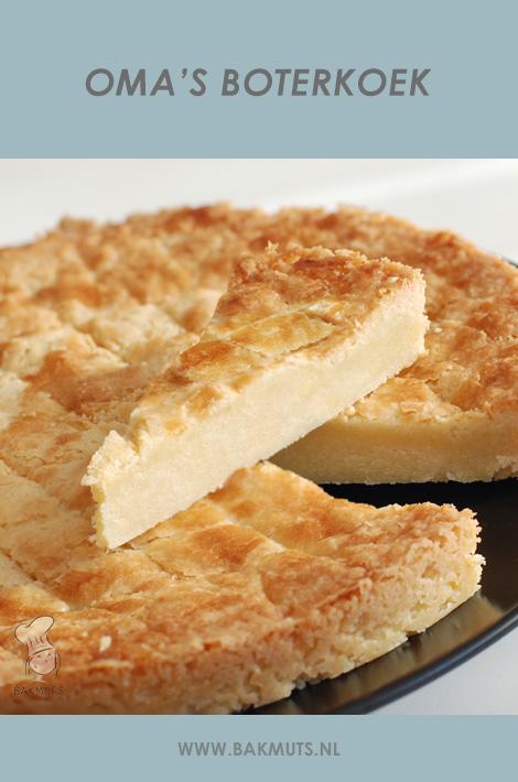 Boterkoek recept bakmuts