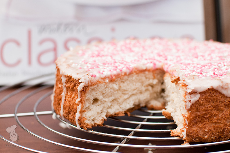 Angelfoodcake met kokos