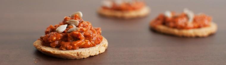 pesto van geroosterde paprika's recept bakmuts