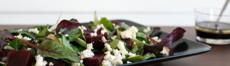 Salade met bietjes en feta recept bakmuts