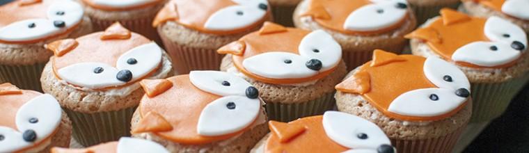 hoe zelf vossencupcakes maken recept bakmuts