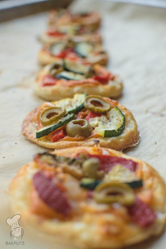 Hartige minitaartjes met groenten recept bakmuts