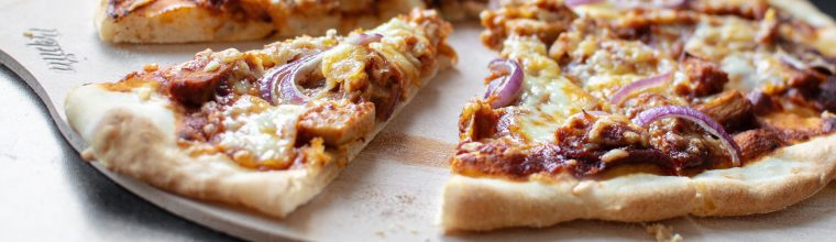 recept pizza bbq chicken bakmuts
