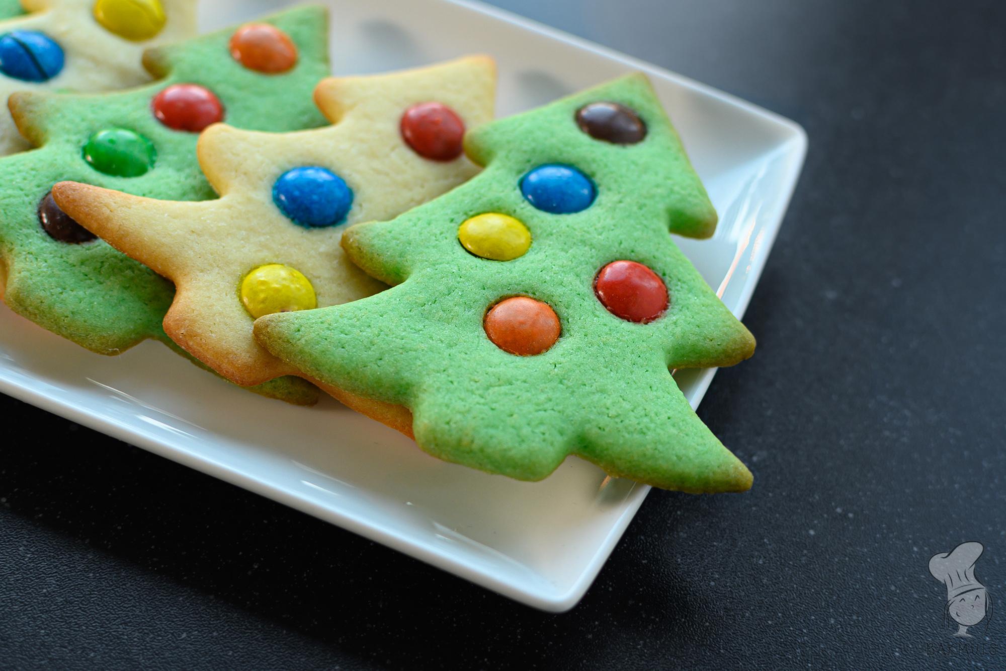Kerstboomkoekjes met m&m's recept bakmuts