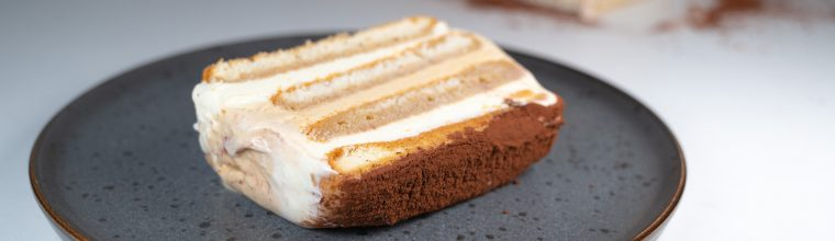 Tiramisu-ijstaart recept van Bakmuts