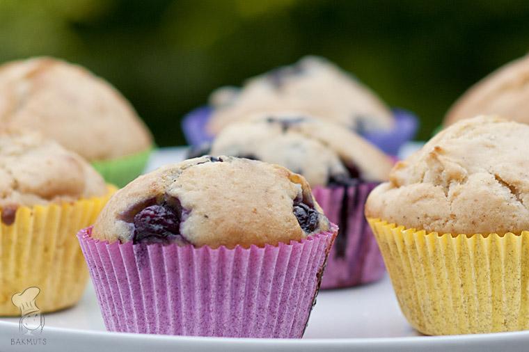 Basisrecept muffins bosbes witte chocola en appel kaneel recept bakmuts