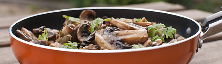 Gemarineerde champignons met knoflook recept bakmuts