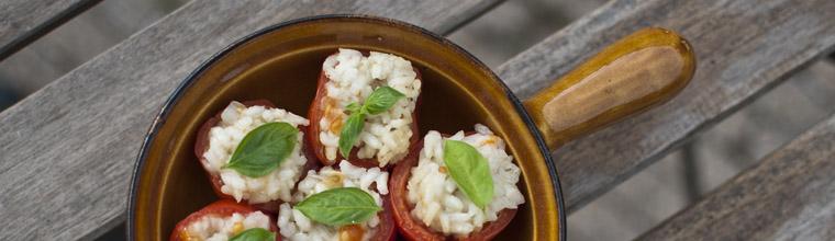 Gevulde tomaten met rijst recept bakmuts