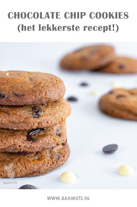 Chocolate chip cookies recept van Bakmuts