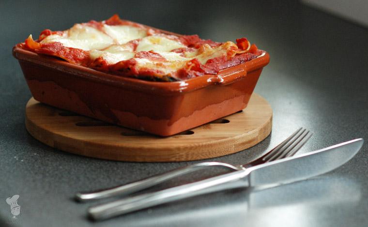 Lasagne met courgette aubergine en spinazie vegetarisch recept bakmuts