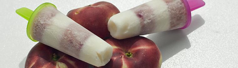 Perzik yoghurtijsjes recept bakmuts