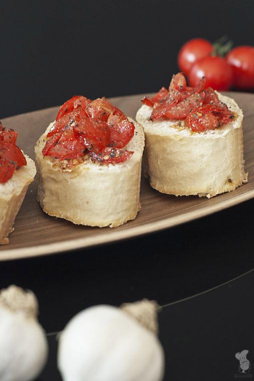 Bruschetta met tomaat en knoflook recept bakmuts
