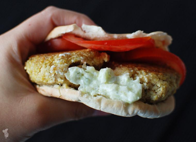 Falafel recept bakmuts