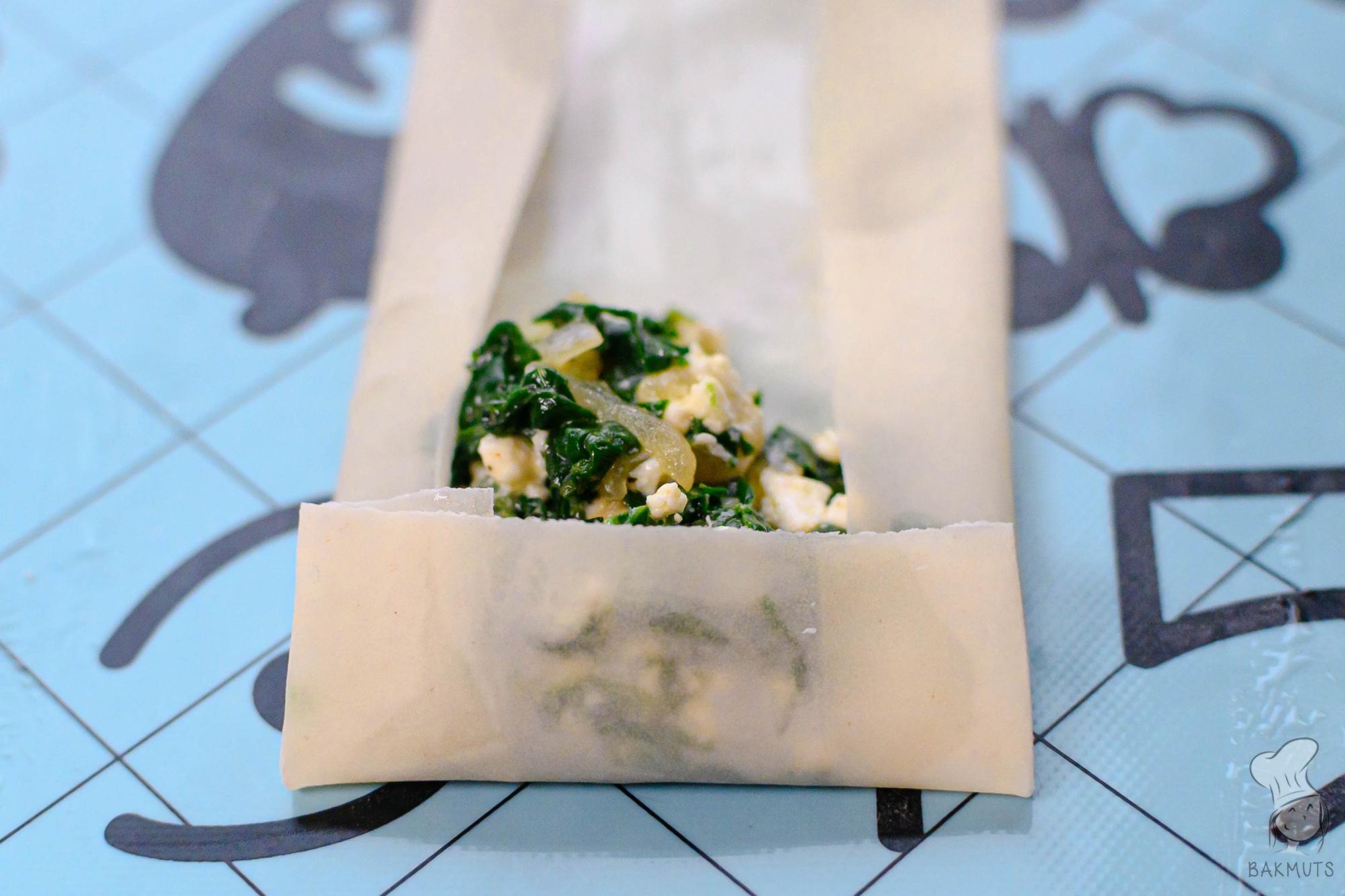 Spinaziefetarolletjes recept van Bakmuts