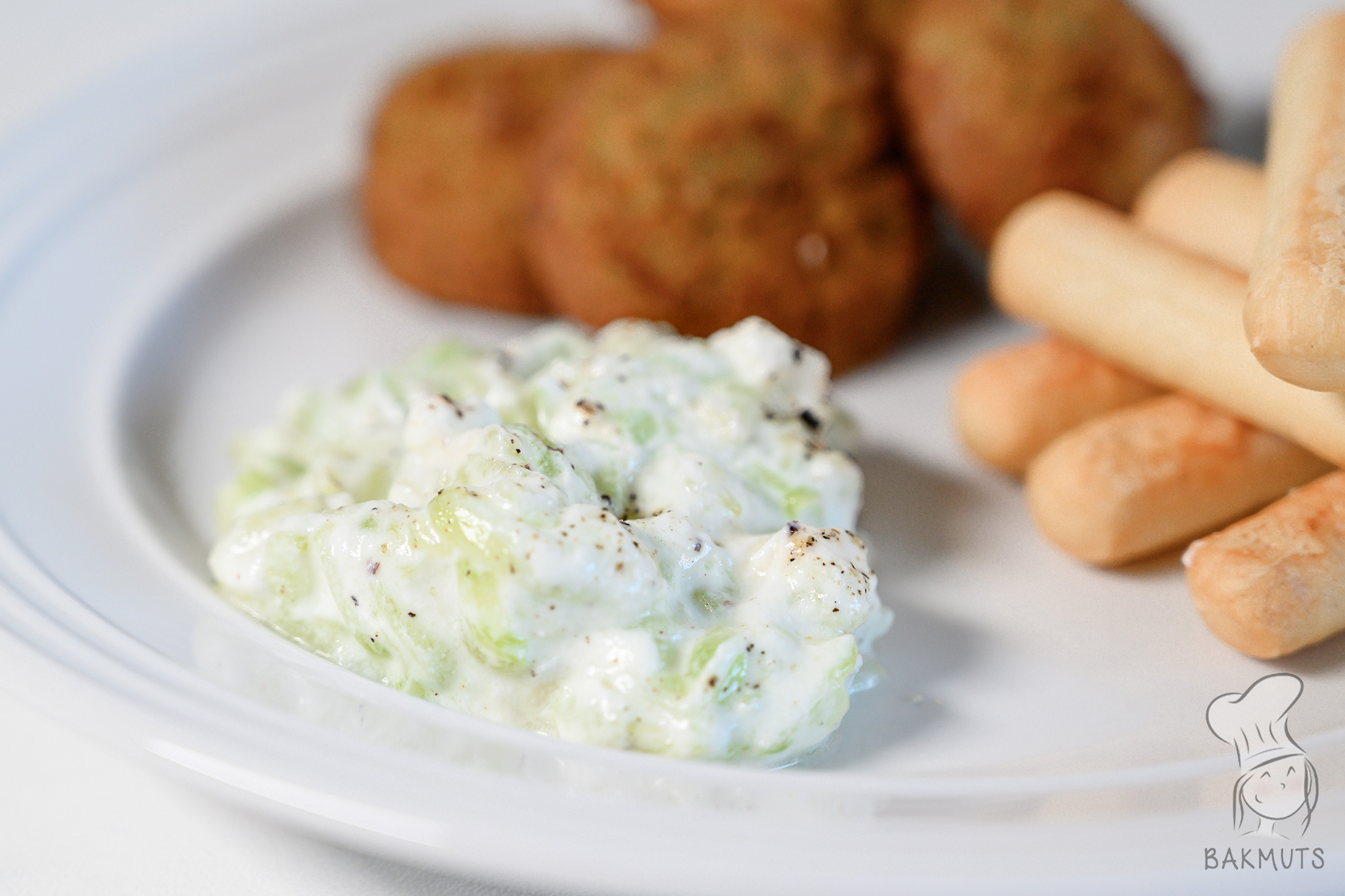 Tzatziki of komkommersalade recept van Bakmuts