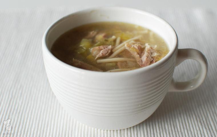 Kippensoep recept bakmuts