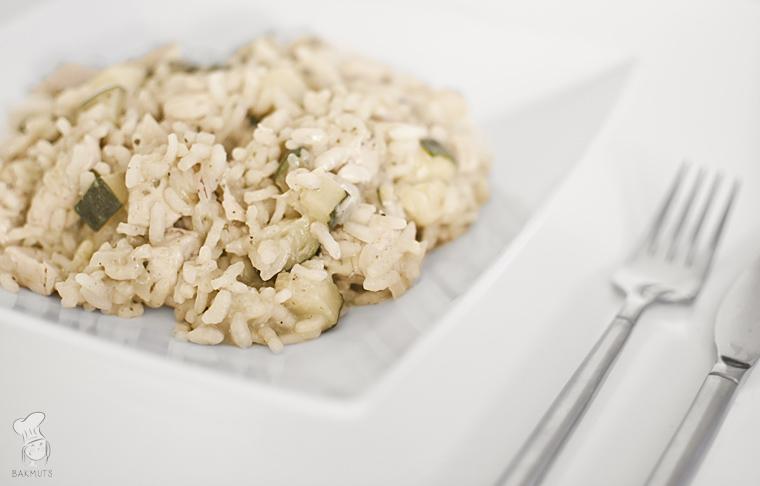 Risotto met courgette en kip recept bakmuts