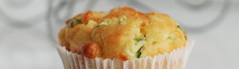 hartige muffins met courgette en kaas recept bakmuts