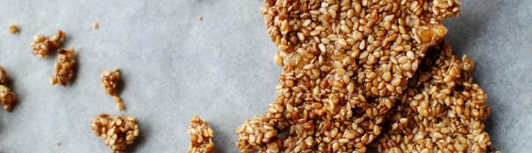 koekjes van sesam en honing recept bakmuts