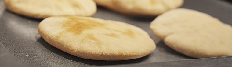 zelfgemaakte pita's recept bakmuts