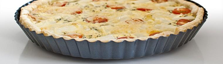 Quiche met witte asperges en tomaten recept bakmuts