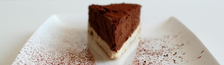 Chocoladetruffeltaart met koekbodem en ganache recept bakmuts