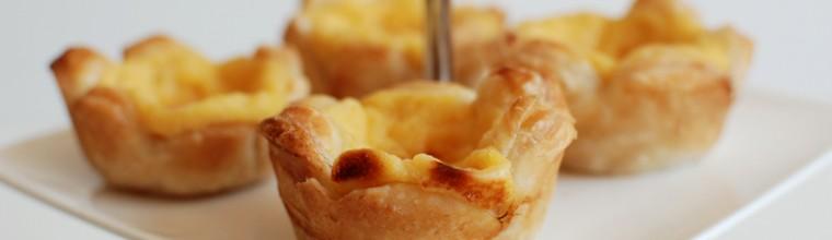 Pasteis de nata Portugese gebakjes recept bakmuts