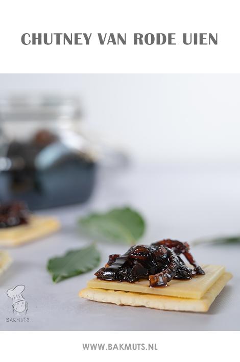 Rode uienchutney - recept van BakmutsRode uienchutney - recept van Bakmuts