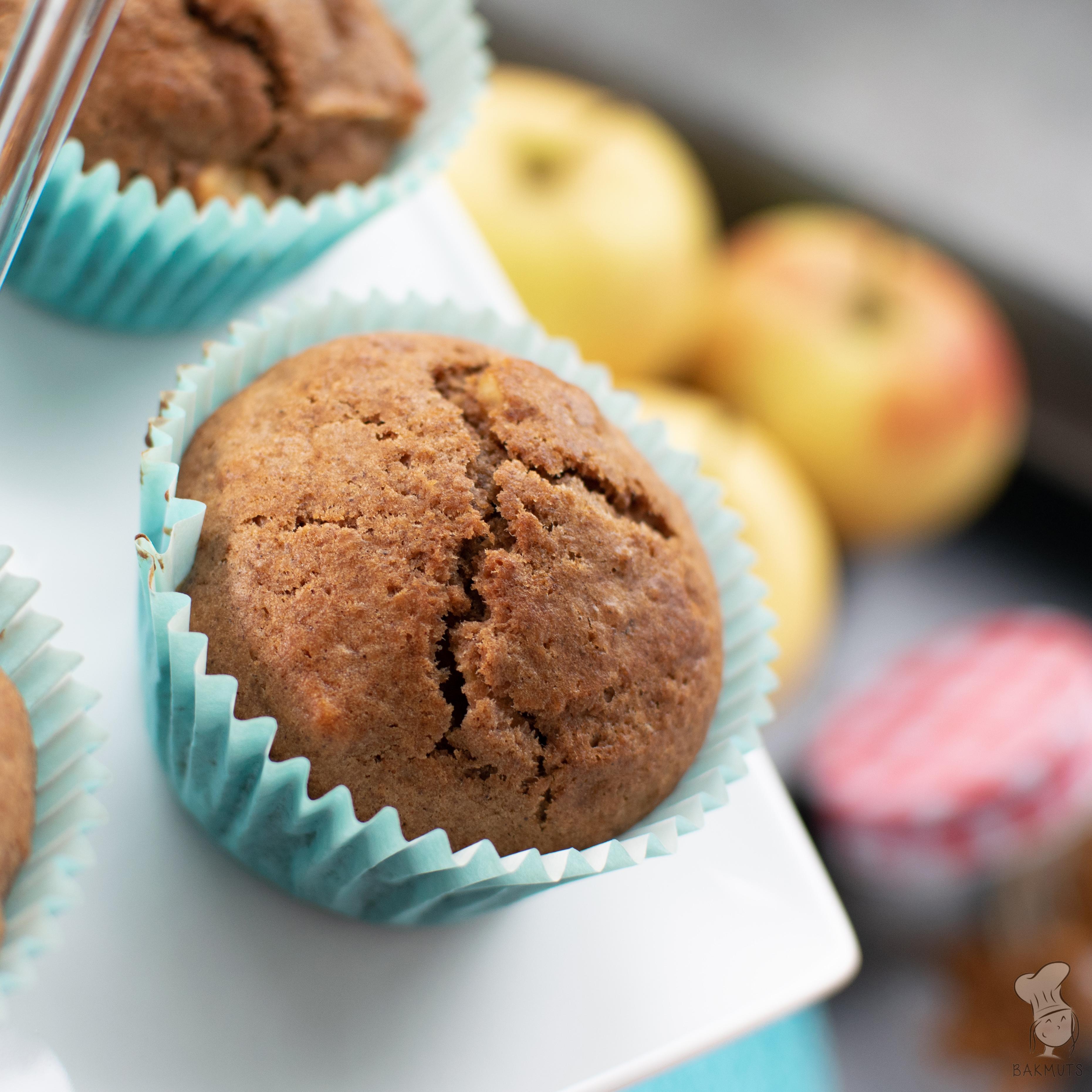 recept appel speculaasmuffins bakmuts