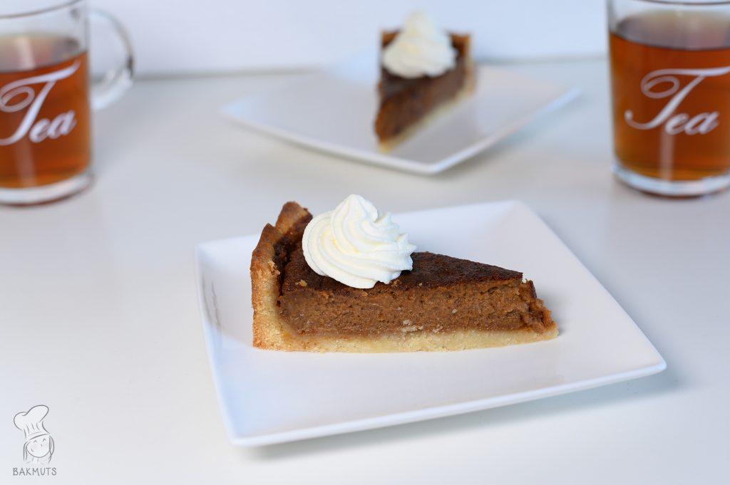 Pompoentaart of pumpkin pie recept van Bakmuts