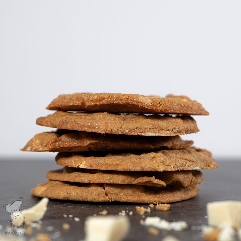 Recept voor witte chocoladekoeken van Bakmuts