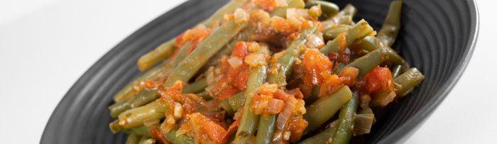 Sperzieboontjes in tomatensaus - een recept van Bakmuts