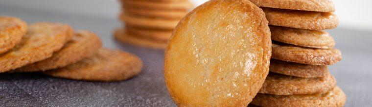Boterkoekjes met een beetje zout - recept van Bakmuts